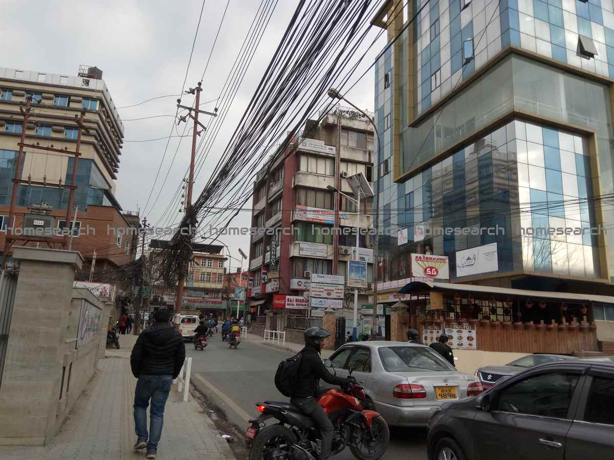 Commercial building for sale at Kamaladi