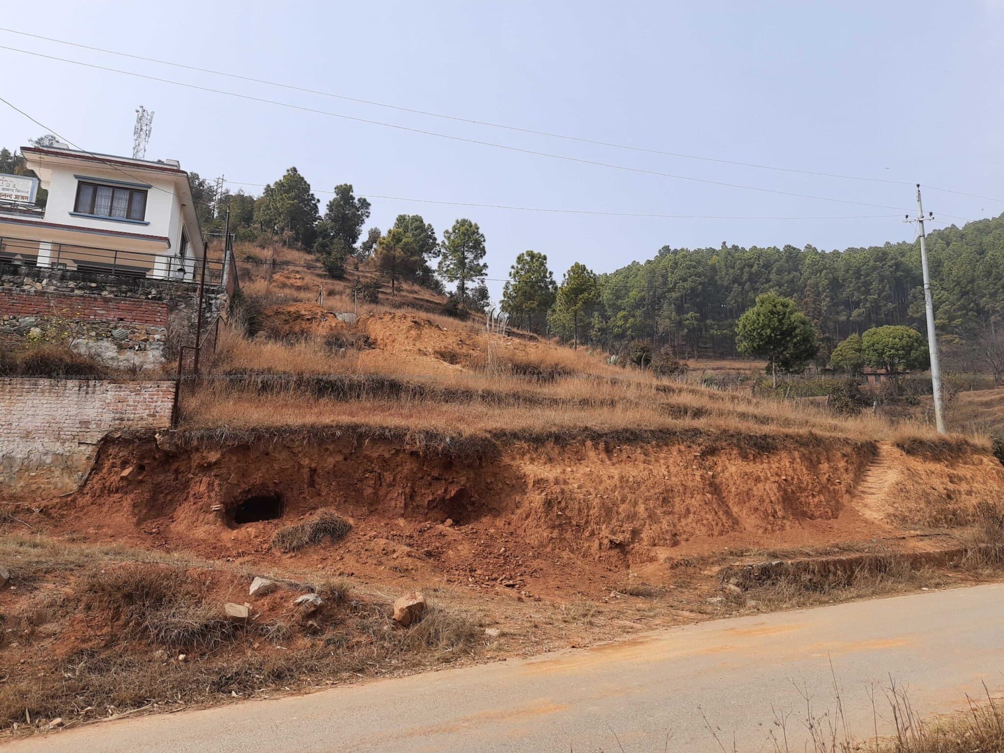 8 Ropani land with house for sale at Lele Lalitpur