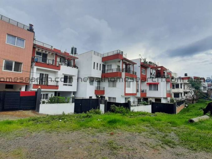 Flat system house for sale at Dhapasi Height Kathmandu