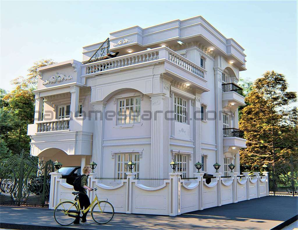 Modern classic designed house for sale at Budhanilkantha
