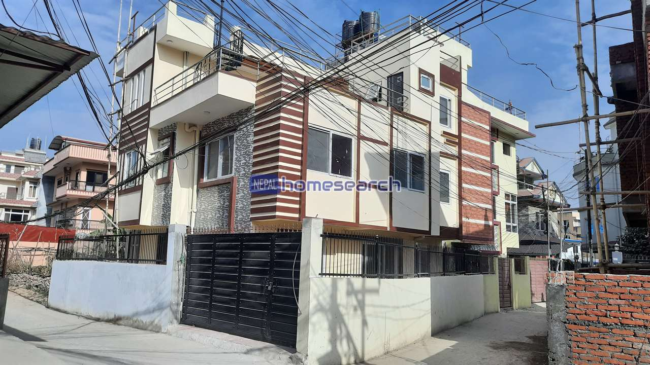 Flat system house for sale on 4.5 Anna at Sano Bharyang KTM