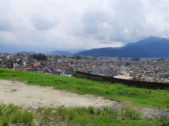 land for sale at Dhapasi Height