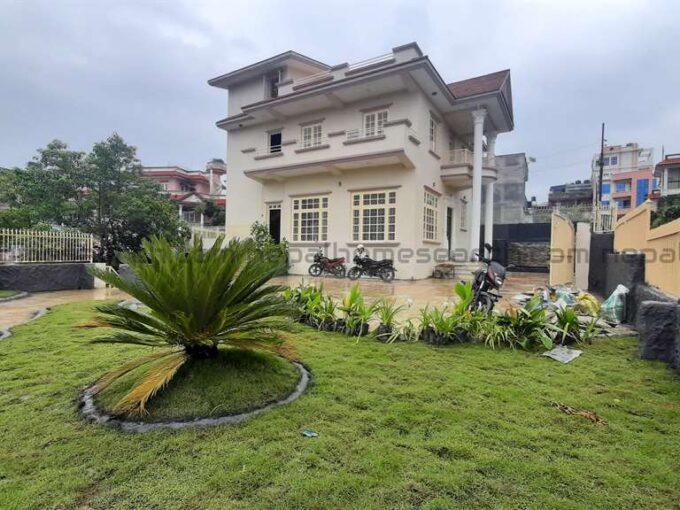 A modern house for sale
