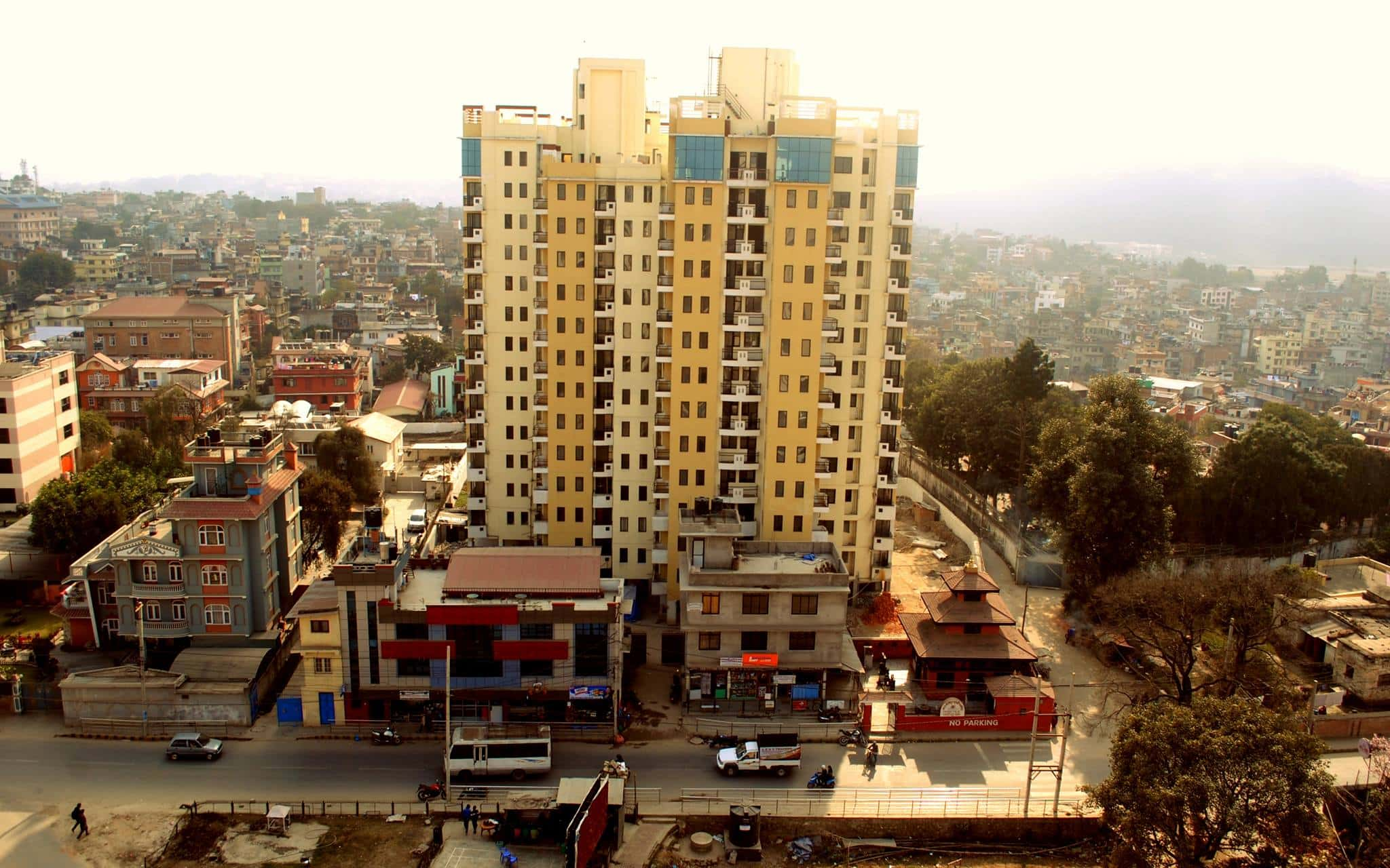 3 BHK apartment for sale at Bajra and Shangrila Residency