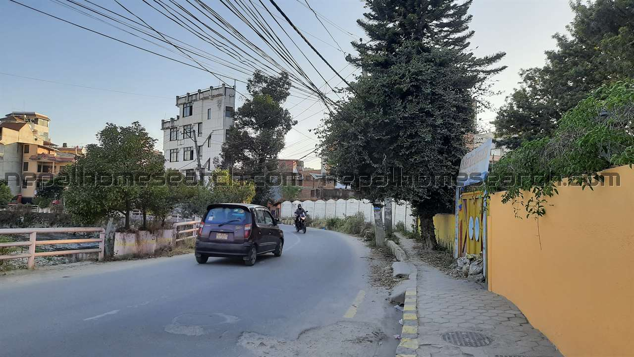 Two commercial lands are for sale in Anamnagar Dhobikhola Corridor
