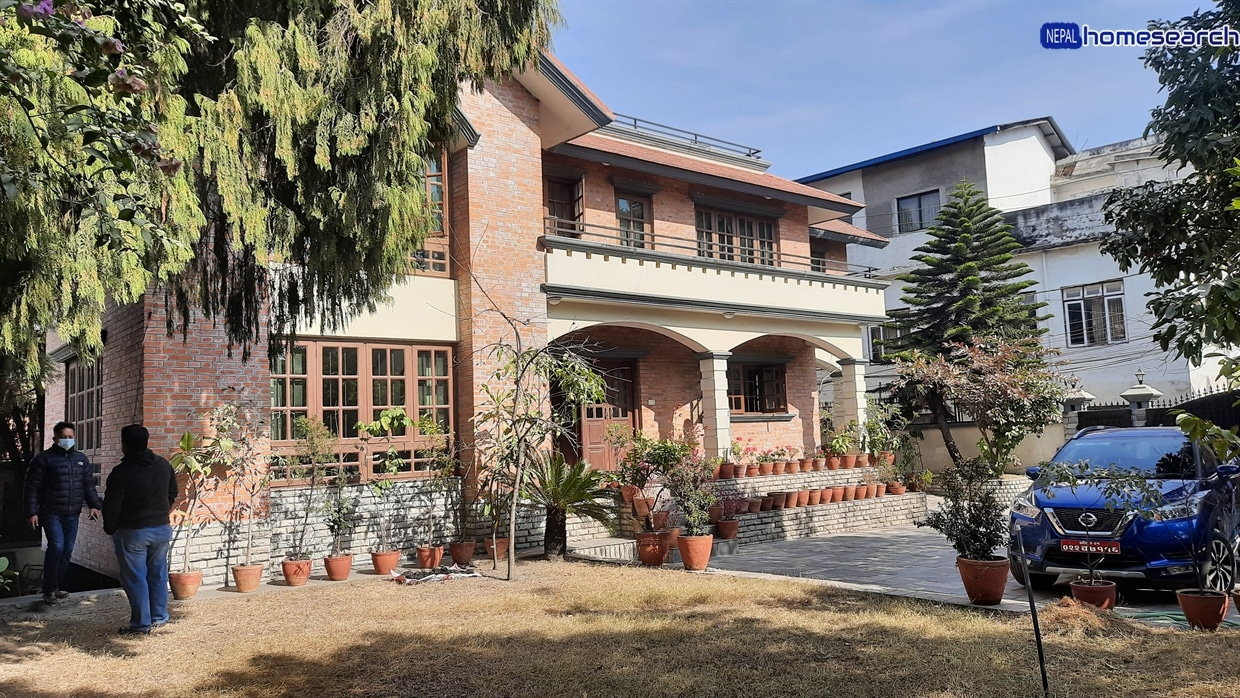 Modern bungalow for sale at Min Bhawan, Baneshwor