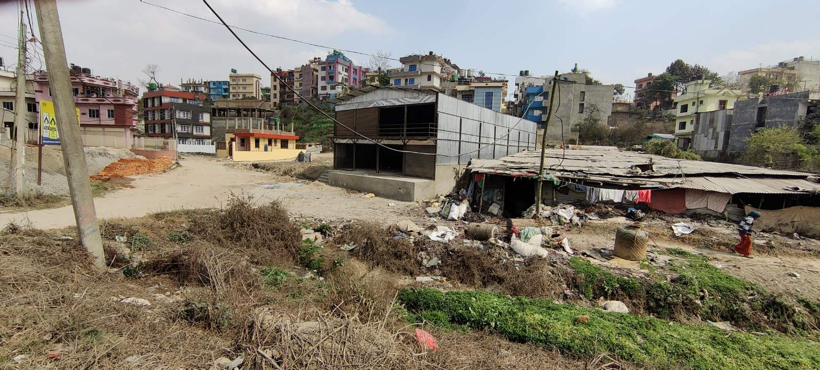 9.5 aana commercial gharjagga for sale at Gothatar behind Airport