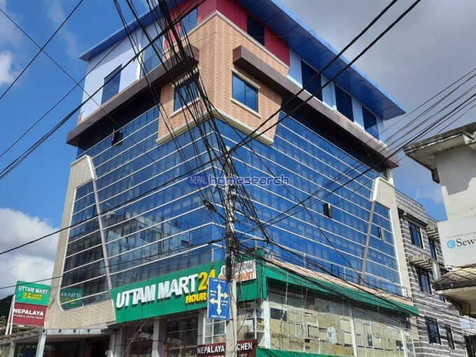 commercial building Baluwatar